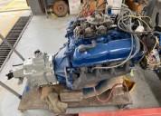 Vendo motor ford 302 reparado con caja de cambios