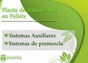 Planta de balanceados en pellets10 ton/hr meelko