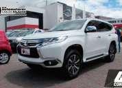 Mitsubishi montero sport 2018 45000 kms