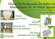 Planta de producción de pellet de alimentación de