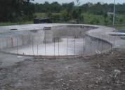 Construcción piscinas hidromasajes