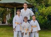 Club de karate en el valle de los chillos