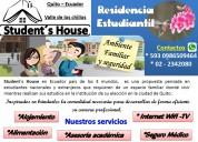 Residencia universitaria en ecuador
