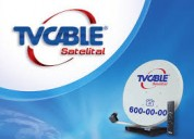 Antena  tvcable  usada  para ,la isla  galapagos