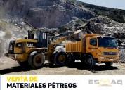 Materiales petreos para construcción: ripio-piedra