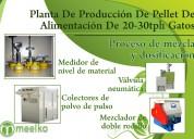 Planta de producción de pellet