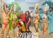 Shows tematicos + hora loca vip