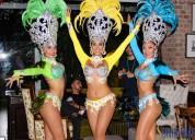 Show carnaval de rio con garotas + hora loca vip