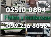 Camionetas y camiones para transporte de mudanza