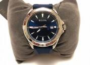 Reloj bulova color azul para hombre