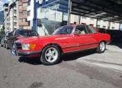 Mercedes benz 280 slc 1977 155000 kms