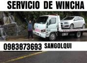Servicio de winchas en sangolquÍ 0983873693 valle