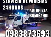 Winchas y gruas en conocoto y autopista rumiÑahui