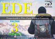 Ede escuela de discipulado y entrenamiento misione