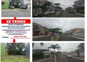 Se vende un terreno urbanización vista hermosa
