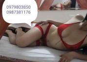 Exquisito servicio tantra, masajes eroticos y mas