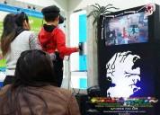 Realidad virtual quito, alquiler, activaciones