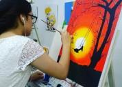 Cursos de pintura-guayaquil- sonnia de marques