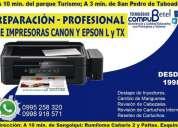 Asistencia tecnica de impresoras reparacion.