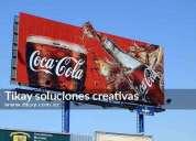 Elaboracion de pancartas carteles y vallas publicitarias