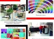 Servicios de pintura decoracion y mantenimiento de inmuebles