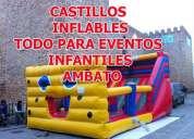 Alquiler de castillos inflable en latacunga