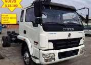 Camion qmc cronos 5 ton de cabina 1 4 ano 2015