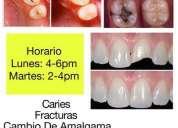 Atencion odontologia gratuita.
