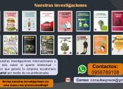 Gestión y apoyo para tesis, ensayos y papers!!