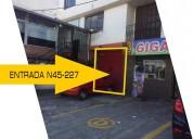 Arriendo local comercial de 80 m²