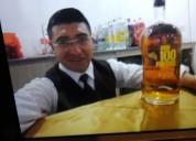 Mesero  profesional barman