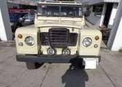Land rover santana 1980 8600 kms