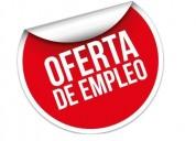 Oferta de trabajo 0983477395.