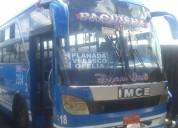 Venta bus urbano con acciones y derechos