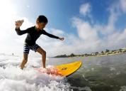 Curso vacacional de surf 2020