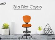 Mueble de oficina silla pilot cajero