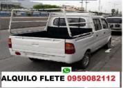 Now now camioneta flete pequeÑas mudanzas solo gua