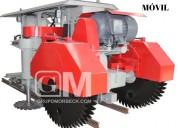 Máquinas cortadora de piedras móvil automática