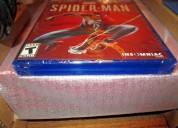 Sony playstation 4 pro 1tb spiderman edicion