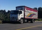 Traslados o fletes en camiones con furgón.
