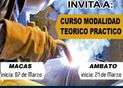 """📌#curso #taller intensivo de """"soldaduras especial"""