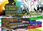Curso de produccion musical para dj