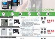 Controles de acceso biometrico zkteco