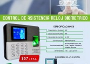 Reloj de asistencia biometrico zkteco lx50