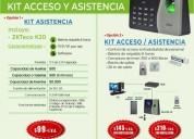Control de asistencia personal zkteco k20