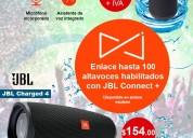 Parlante portable jbl flip 4 sumergible