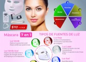 Mascaras led fototerapia anti-envejecimiento acne
