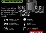Sistema de parlantes con sonido envolvente klip