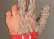 Guante malla acero inoxidable 3 dedos