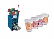 Selladora de vasos semi automatica - 1 posicion